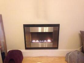 Fluless gas fire