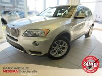 2011 BMW X3 xDrive28i * Toit Panoramique * Cuir *