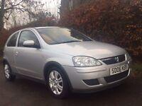 **12 MONTHS MOT** 2006 Vauxhall Corsa 1.0 Active Metallic Silver **Serviced**Ready to Drive away!