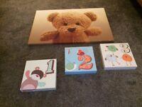 Canvas for nursery