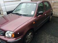 Small nice car.£350.00 Mot till December.