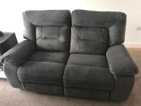 Kinman electric recliner 2 seat sofa as new