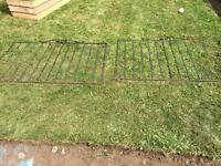 """Cast Iron drive gates 52"""" by 34"""""""