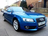 2009 Audi A5 2.0 TDI Sport 6 Speed Manual 2 Door Coupe.10 months mot .Full Service History 1 owner