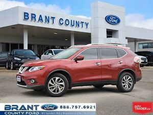 2014 Nissan Rogue SL - LEATHER, ROOF, NAV!!