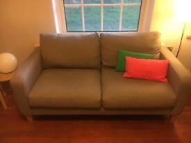 John Lewis 2 seater sofa H91 x W176 x D91cm