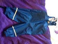 Navy Playshose waterproofs 1/2year