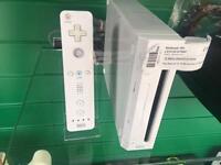 Nintendo Wii console & remote