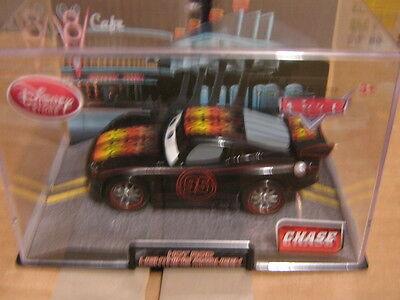 DISNEY PIXAR CARS 2 HOT ROD LIGHTNING MCQUEEN CHASE  W/ CASE  DISNEY STORE ](Lightning Mcqueen Cars 2)