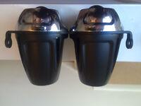 Alloy Twin Photon headlight Motorcycle Streetfighter Headlamp Dominator 2.0