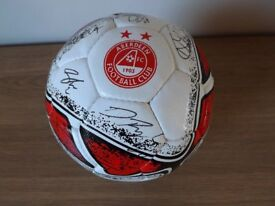 2017 Signed Aberdeen FC Football - Offers Considered