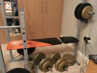 V-FIT STB 09 - 4 folding weight bench.