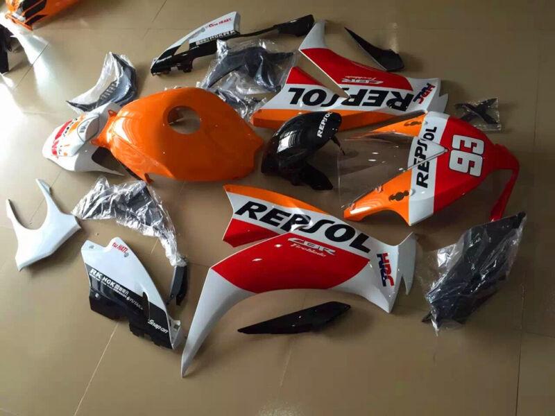 Painted ABS Fairing Bodywork Kit Fit For Honda CBR 1000RR 1000 RR 2012-2016 2015