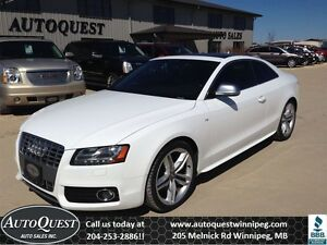 2009 Audi S5 4.2L (M6) All Year Round Sports Car!