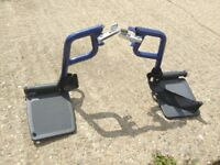 Wheelchair sturdy in good condition easy to fold up