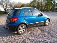 Fiat Sedici 1.6 petrol 4x4 Good condition 2007 112k