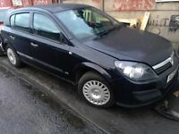 2005 VAUXHALL ASTRA 1.6 PETROL BLACK AUTO 'BREAKING' PARTS FOR SALE