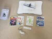 Nintendo Wii Complete Bundle (includes Wii Fit)