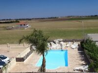 Nice holiday home with bedrooms in a quiet location with pool
