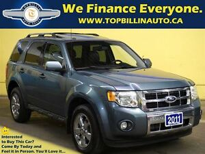 2011 Ford Escape Limited 3.0L 4WD, Leather, Sunroof