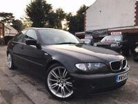 BMW 3 Series 2.0 320d ES 4dr 6 SPEED MANUAL F.S.H 1 YEARMOT 3 MONTHS WARRANTY 2 KEYS
