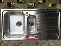 Blanco stainless steel kitchen sink -New