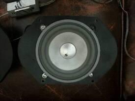 "5"" Fli integrator comps speakers, tweaters and crossovers"