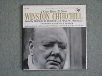 Winston Churchill 'I Can Hear It Now' LP Record