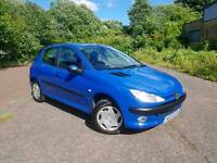 Peugeot 206 Automatic ULTRA LOW MILES MOT 30th MARCH 18