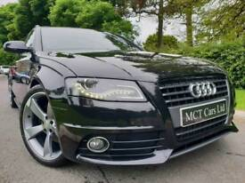 July 2010 Audi A4 2.0 Tdi S Line 170bhp Avant, Black Edition Styled! Full Leather! Heated Seats! FSH
