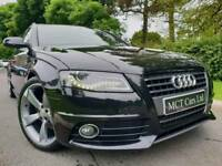 July 2010 Audi A4 2.0 Tdi S Line 170bhp Avant, Black Edition Styled! Full Leather! Heated Seats! FSH