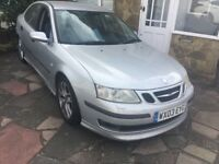 SAAB 9-3 Aero 210 BHP 1995cc Petrol Turbo 6 speed manual 4 door saloon 03 Plate 28/03/2003