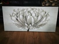 Flower Print Wall Canvas / Wall art