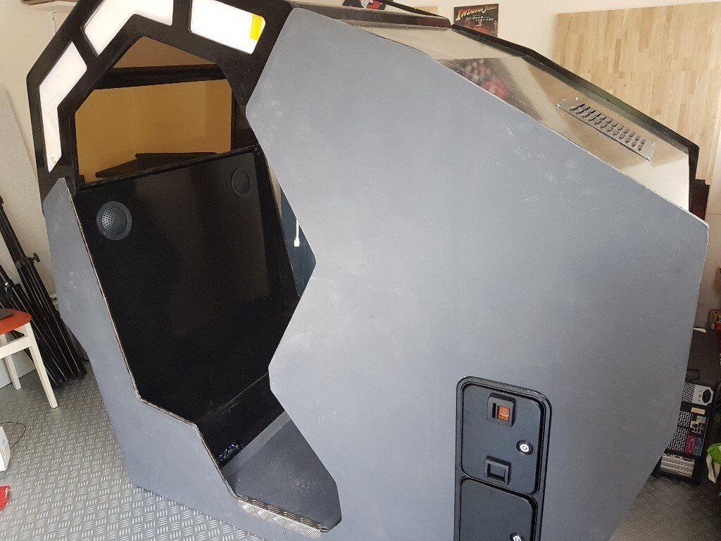Unique 2 Player Cockpit Arcade Cabinet | in Hockley, Essex | Gumtree
