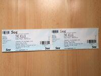 2x standing tickets The Kills Manchester 29th September 2016 Albert Hall