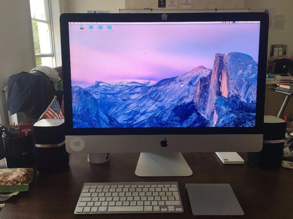 Apple iMac 27 inch, 3.2 GHz intel Core i5, memory 8GB. Bluetooth keyboard padin Cheltenham, GloucestershireGumtree - Apple iMac 27 inch, late 2013, 3.2 GHz intel Core i5, memory 8GB. Bluetooth keyboard pad
