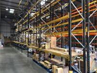 LINK 51 PALLET RACKING BUNDLE 7m Frames 2.7m Beams (Chelmsford Branch)