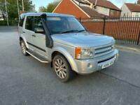 2006 06reg Landrover Discovery 2.7 Tdv6 HSE Silver 7 Seater Automatic Top Spec