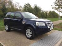 LHD LEFT HAND DRIVE LAND ROVER FREELANDER 2 SE 2.2 TD4 AUTOMATIC FULLY LOADED WARRANTY PART EXCHANGE