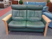 EKORIVES 2 Seater Recliner Sofa GF038