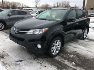 2015 Toyota RAV4 Limited, Automatic, Leather, Sunroof, AWD