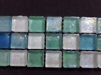 multi-colour glass mosaic tiles