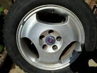 Saab Alloys & New Tyres