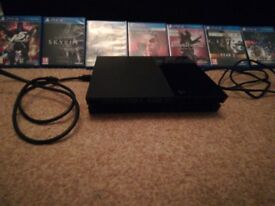 PS4 with selection of games. Open to offerss
