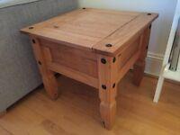 Corona wooden side table