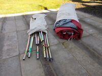 Selection of caravan/motorhome accessories