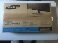 Samsung S22D300NY HD Monitor In Perfect Working Condition