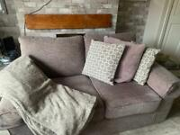 Next 2 seater sofa/couch cord cloth