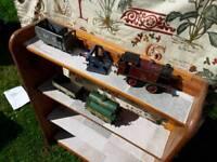 Vintage toy train bits