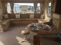 3 bedroom static caravan for sale in beautiful North Norfolk holiday park - includes 2018 site fees!
